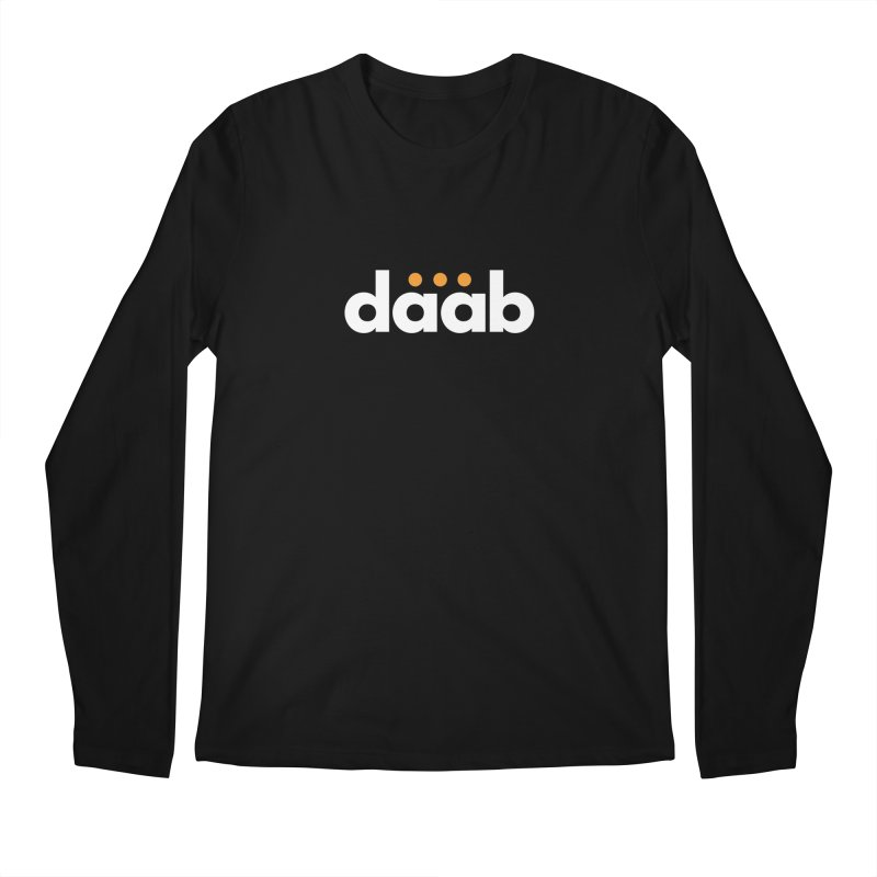 Daab Creative Branded Tee Men's Regular Longsleeve T-Shirt by daab Creative's Artist Shop