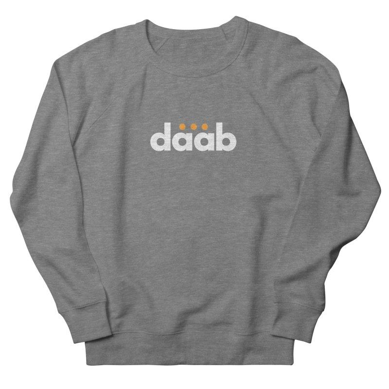 Daab Creative Branded Tee Men's French Terry Sweatshirt by daab Creative's Artist Shop