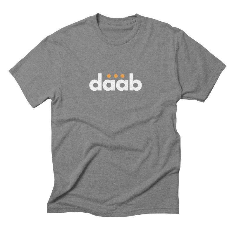 Daab Creative Branded Tee Men's Triblend T-Shirt by daab Creative's Artist Shop