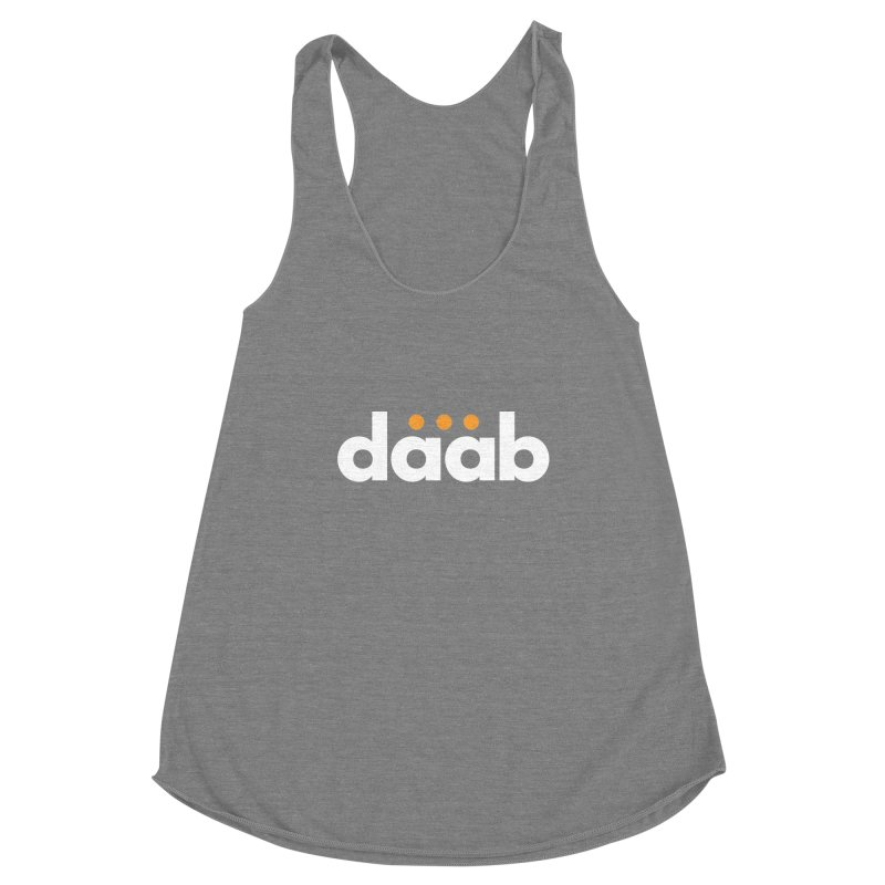 Daab Creative Branded Tee Women's Tank by daab Creative's Artist Shop