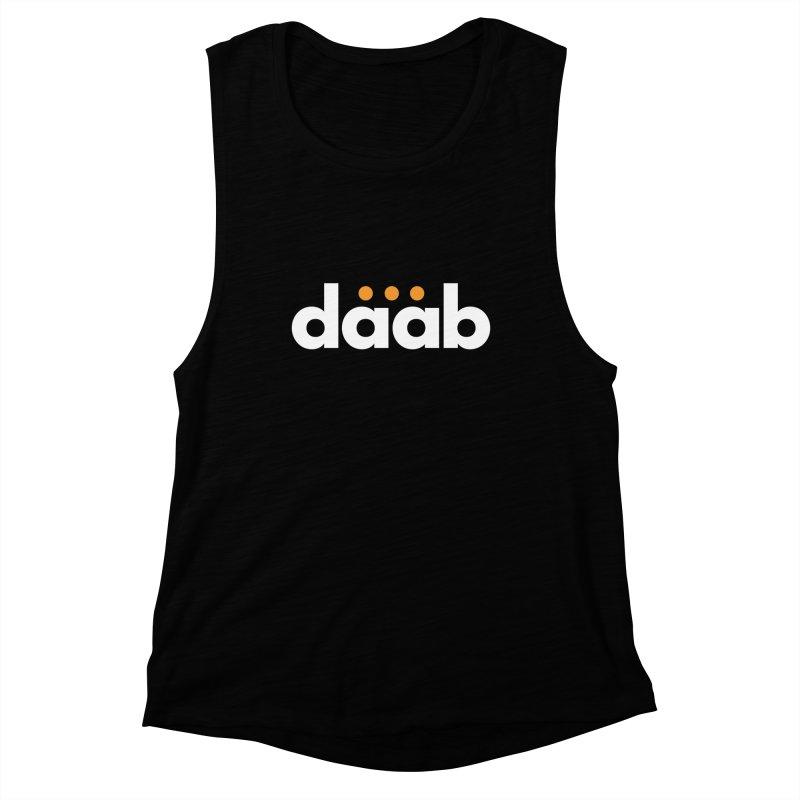 Daab Creative Branded Tee Women's Muscle Tank by daab Creative's Artist Shop