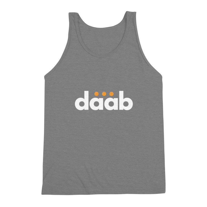 Daab Creative Branded Tee Men's Triblend Tank by daab Creative's Artist Shop