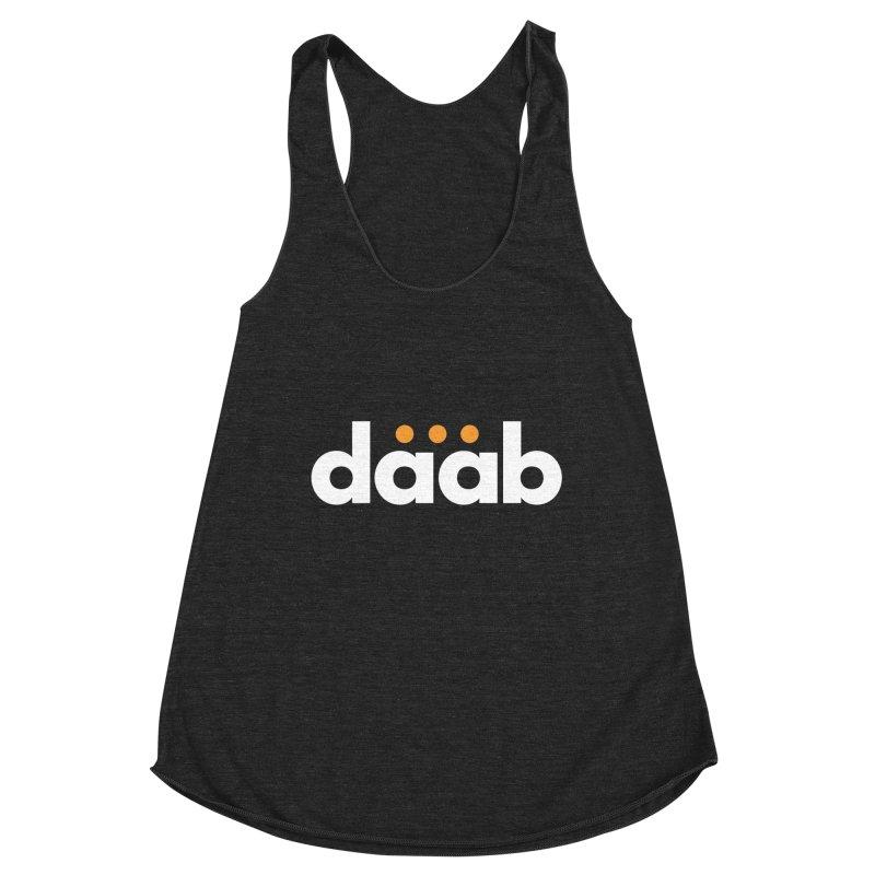 Daab Creative Branded Tee Women's Racerback Triblend Tank by daab Creative's Artist Shop