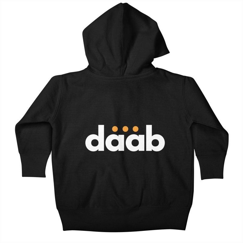 Daab Creative Branded Tee Kids Baby Zip-Up Hoody by daab Creative's Artist Shop