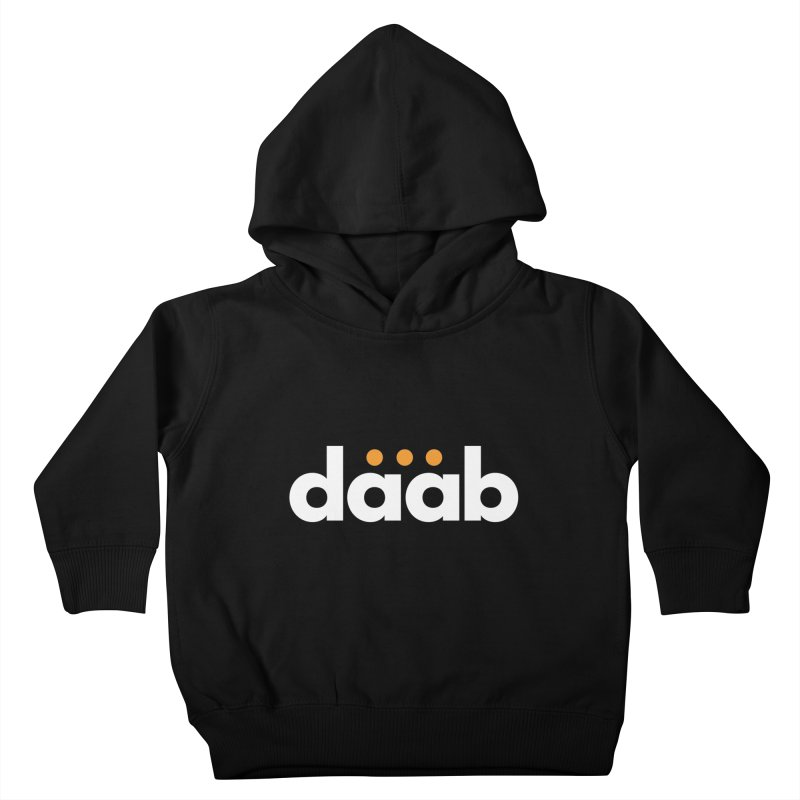 Daab Creative Branded Tee Kids Toddler Pullover Hoody by daab Creative's Artist Shop