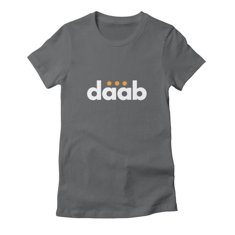 Daab Creative Branded Tee Women's Fitted T-Shirt by daab Creative's Artist Shop