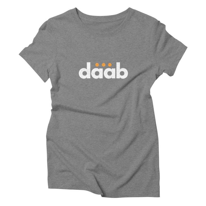 Daab Creative Branded Tee Women's Triblend T-Shirt by daab Creative's Artist Shop