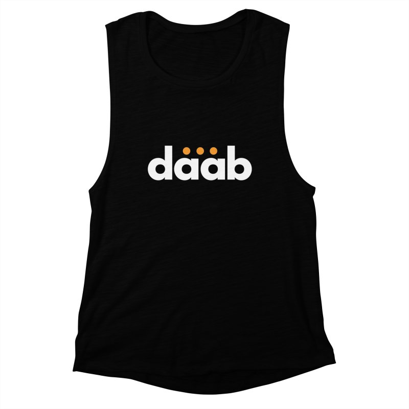 Daab Creative Branded Tee Women's Muscle Tank by daab Creative's Artist Shop