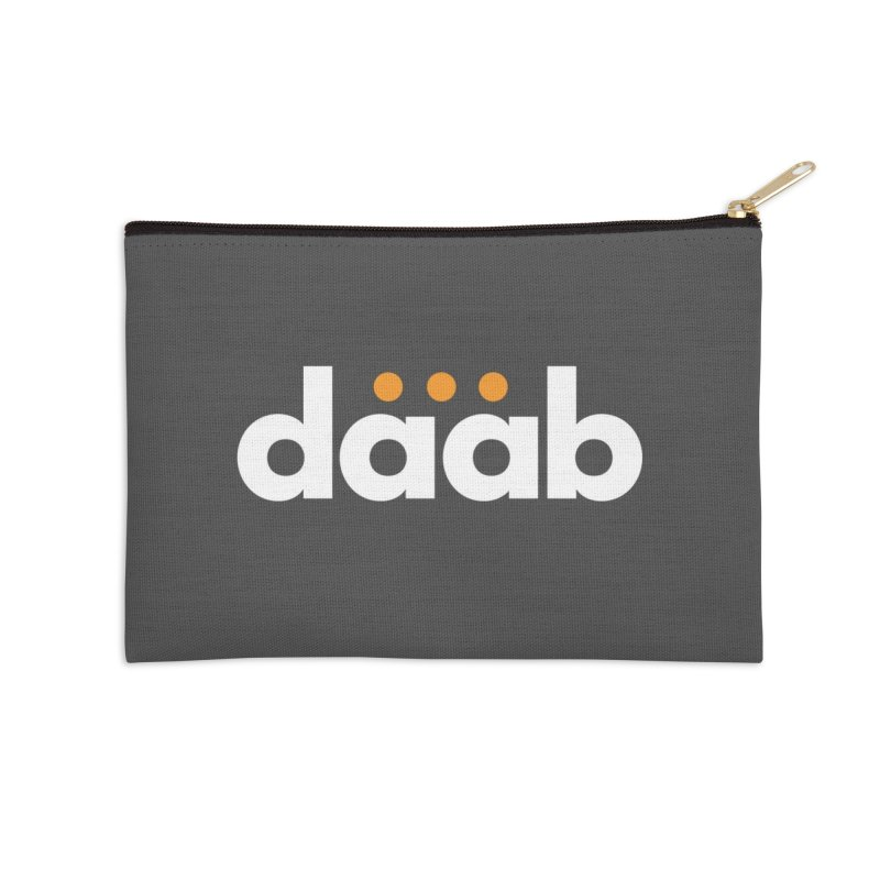 Daab Creative Branded Tee Accessories Zip Pouch by daab Creative's Artist Shop
