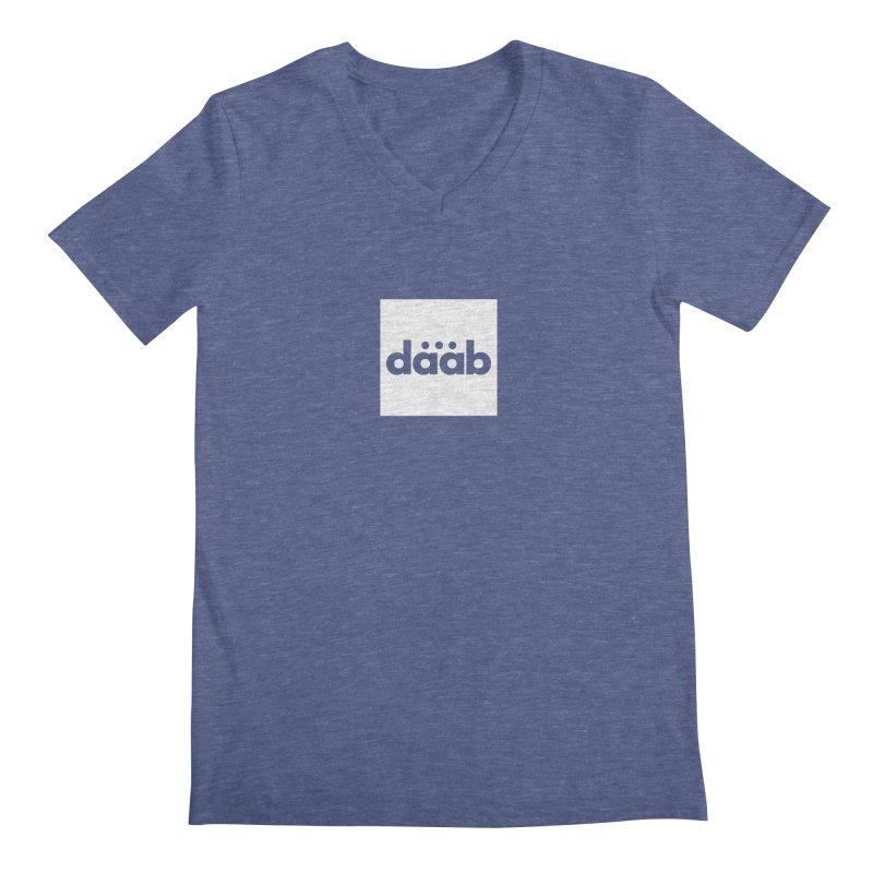 Daab Creative Brand Merch Men's Regular V-Neck by daab Creative's Artist Shop