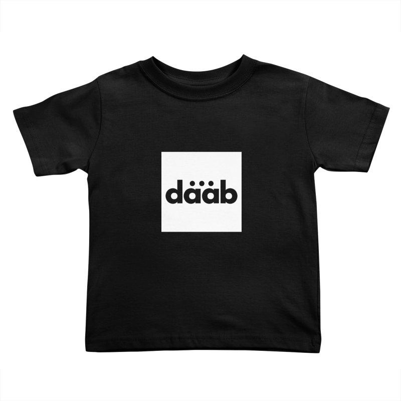 Daab Creative Brand Merch Kids Toddler T-Shirt by daab Creative's Artist Shop