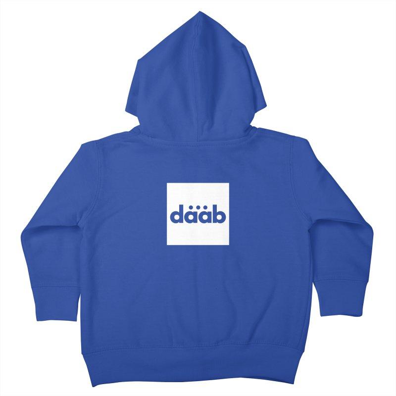 Daab Creative Brand Merch Kids Toddler Zip-Up Hoody by daab Creative's Artist Shop