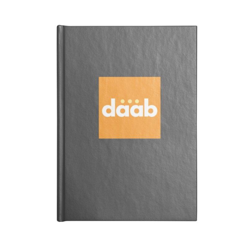Daab Creative Merch! Accessories Lined Journal Notebook by daab Creative's Artist Shop