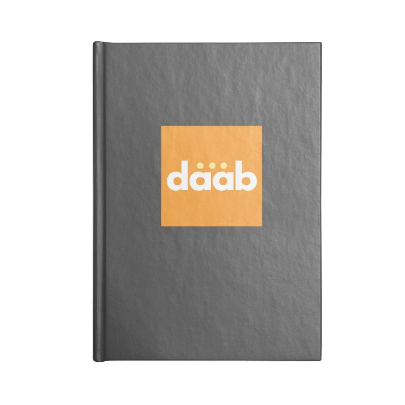Daab Creative Merch! Accessories Blank Journal Notebook by daab Creative's Artist Shop