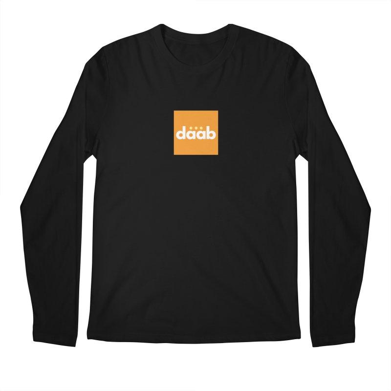 Daab Creative Merch! Men's Regular Longsleeve T-Shirt by daab Creative's Artist Shop