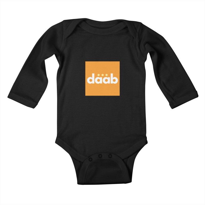 Daab Creative Merch! Kids Baby Longsleeve Bodysuit by daab Creative's Artist Shop