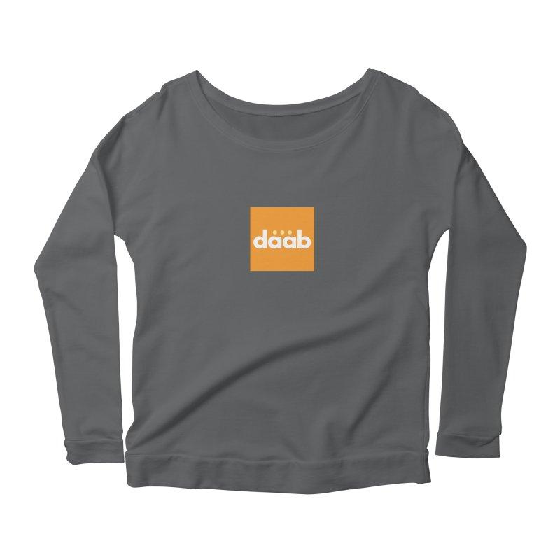 Daab Creative Merch! Women's Scoop Neck Longsleeve T-Shirt by daab Creative's Artist Shop