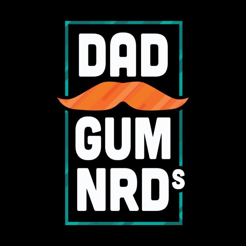 Dadgum 'Stache Men's T-Shirt by Dadgum Nerds' Store