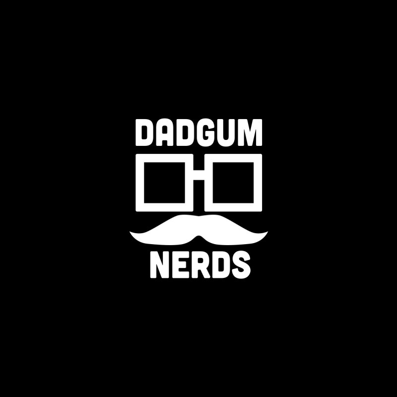 Dadgum Badge Men's T-Shirt by Dadgum Nerds' Store