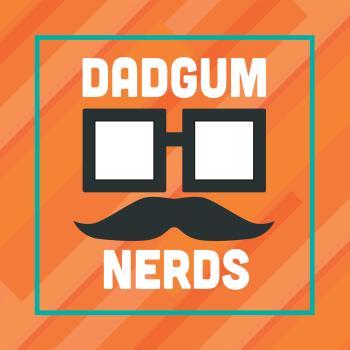 Dadgum Nerds' Store Logo