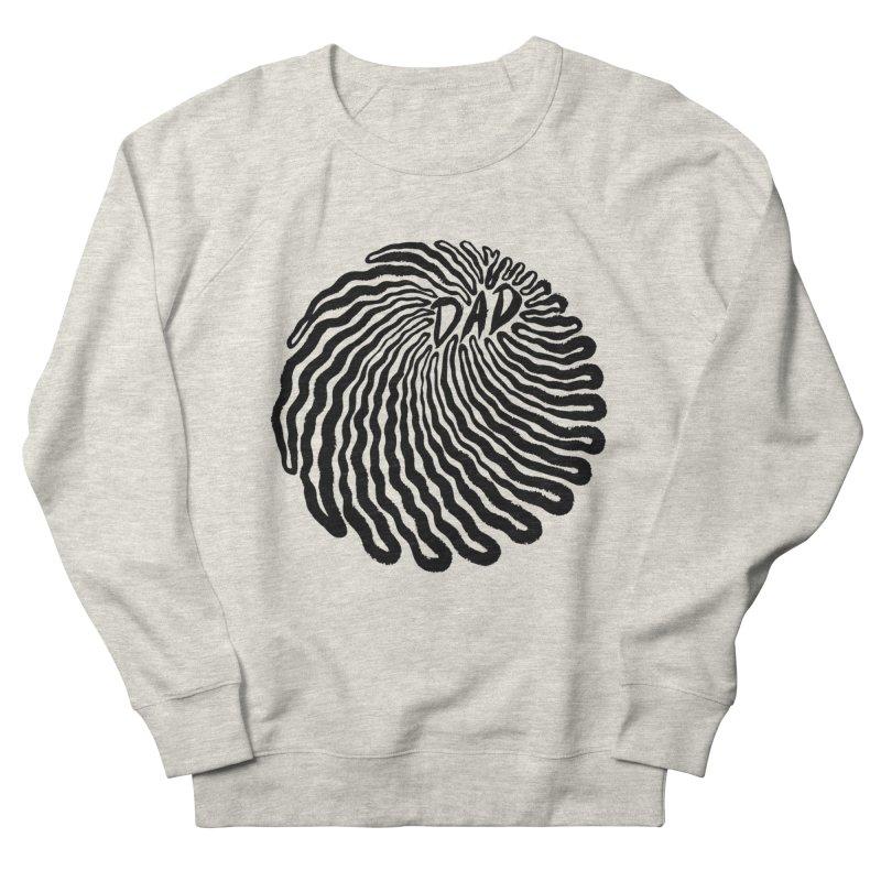 """Infirmary"" Black Logo Men's Sweatshirt by Dad"