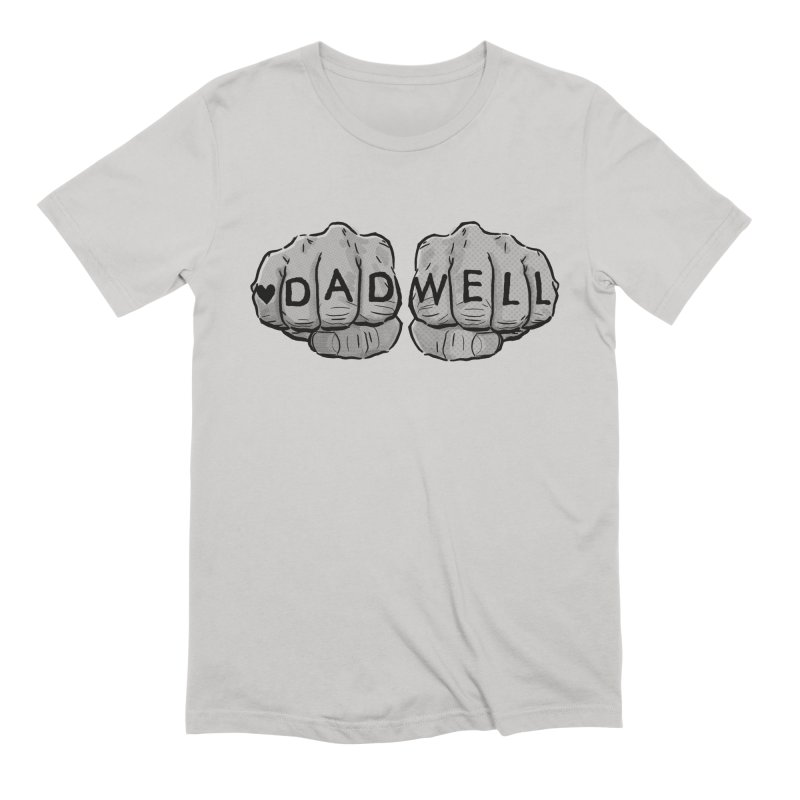 Dadcore in Men's Extra Soft T-Shirt Stone by Dadwell & Co.