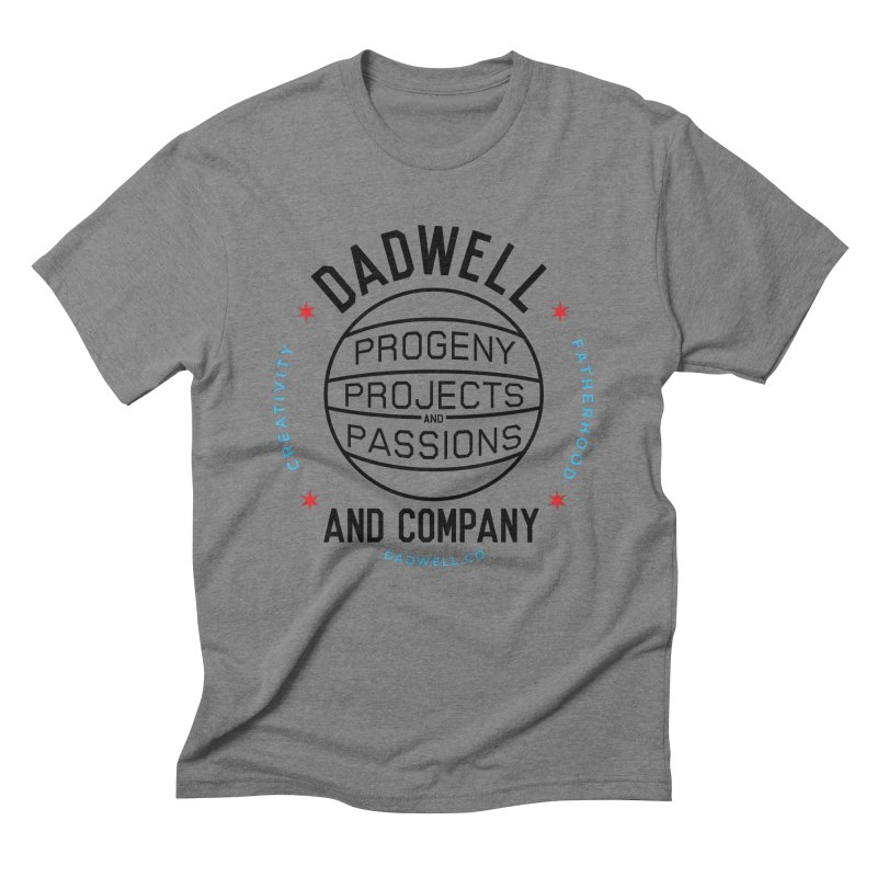 Neighborhood League in Men's Triblend T-Shirt Grey Triblend by Dadwell & Co.