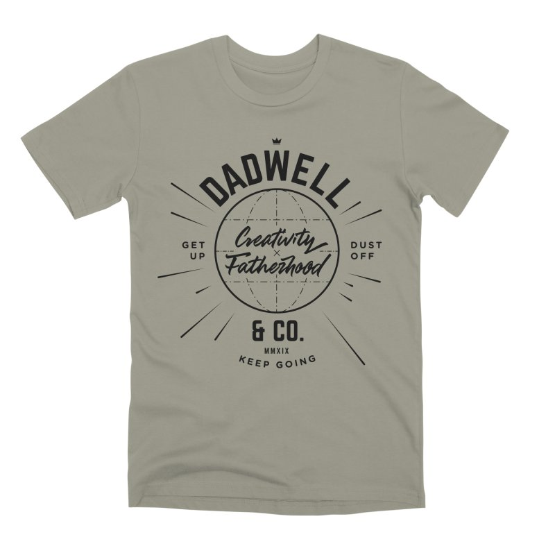 Tools of the Trade in Men's Premium T-Shirt Pebble Grey by Dadwell & Co.
