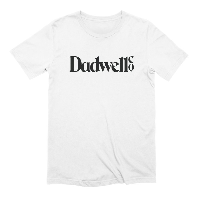 Dadwell & Co. Logo in Men's Extra Soft T-Shirt White by Dadwell & Co.