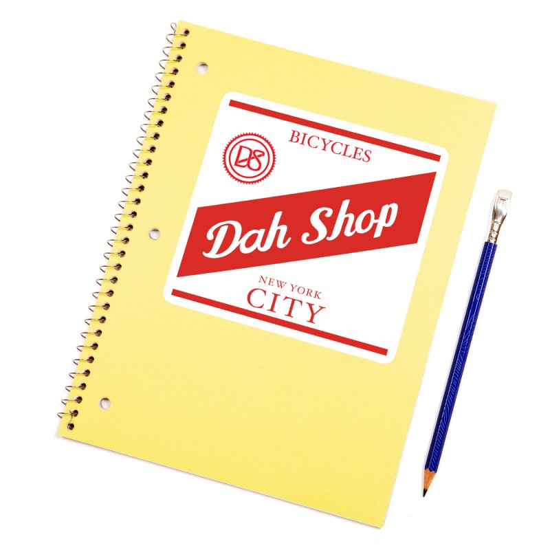 Dah Stripe Accessories Sticker by Dah Shop Online
