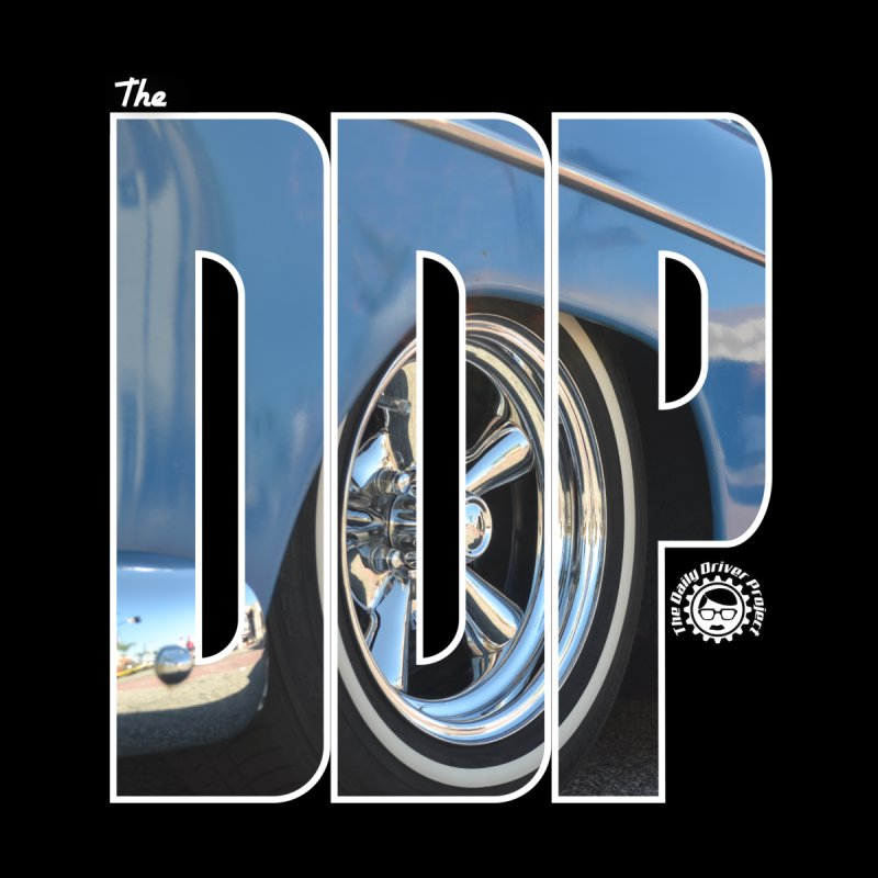 The DDP Cutout Blue Kustom by The Daily Driver Projects Merch