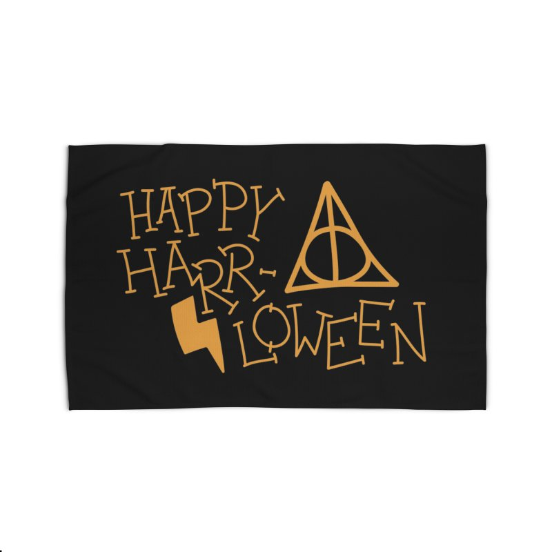 Happy Harrloween Home Rug by Daily Lovejuice Apparel