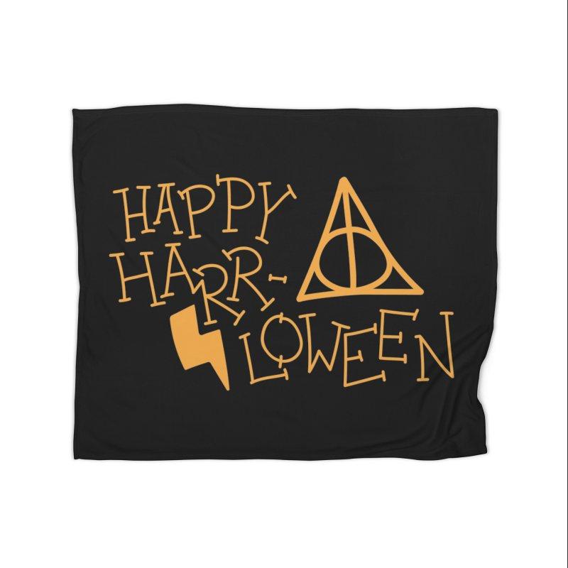 Happy Harrloween Home Blanket by Daily Lovejuice Apparel