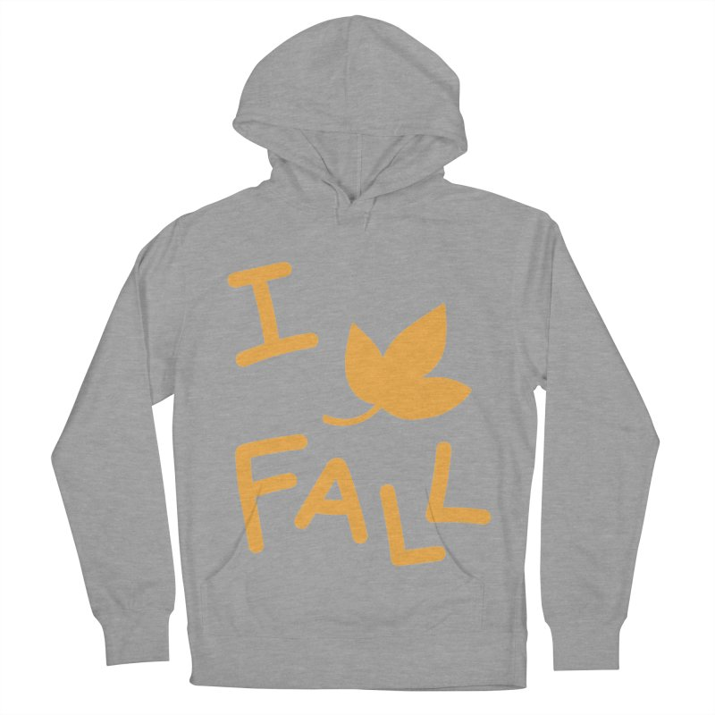 I Leaf Fall Women's Pullover Hoody by Daily Lovejuice Apparel
