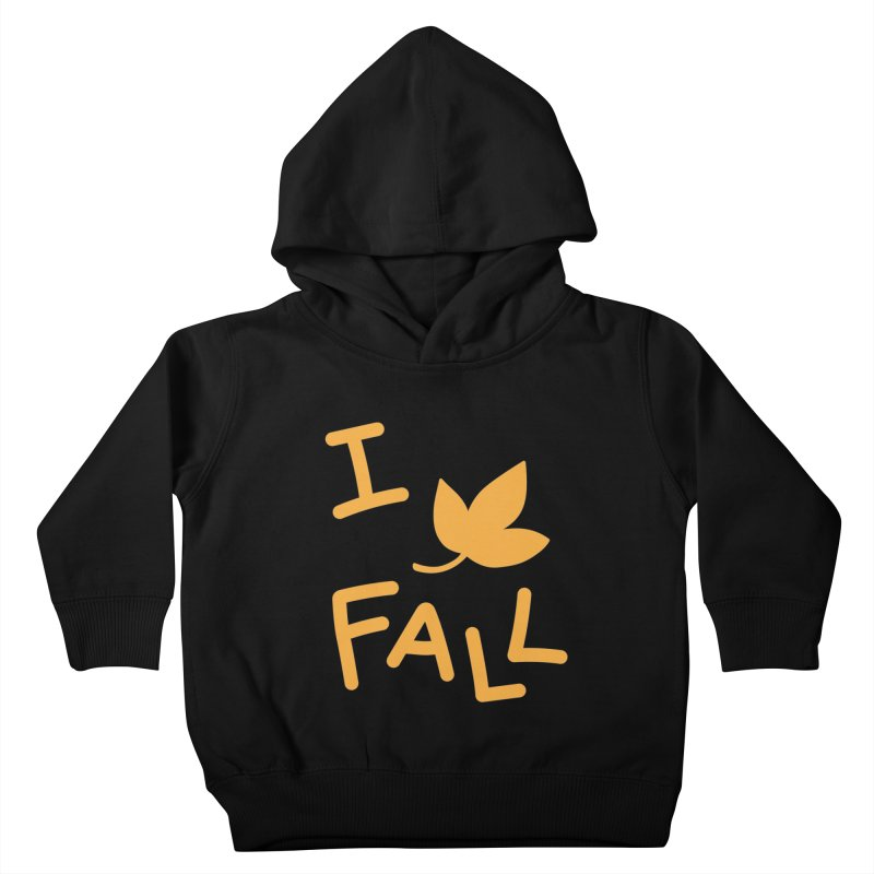 I Leaf Fall Kids Toddler Pullover Hoody by Daily Lovejuice Apparel