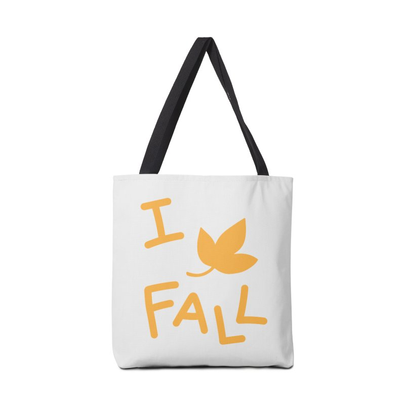 I Leaf Fall Accessories Bag by Daily Lovejuice Apparel
