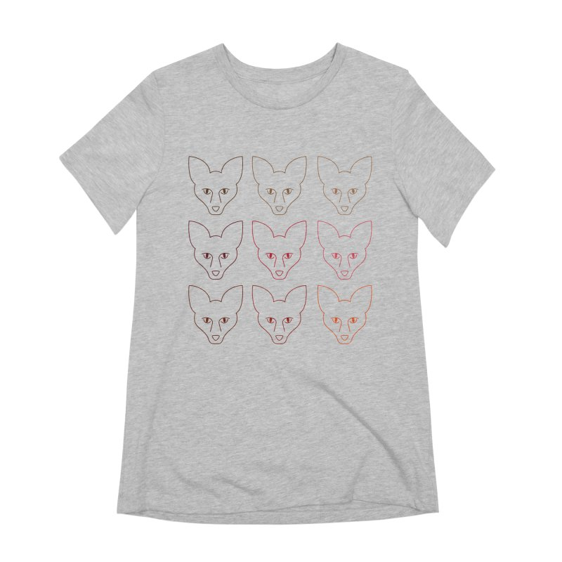 Colors of the Fox Women's Extra Soft T-Shirt by Daily Lovejuice Apparel