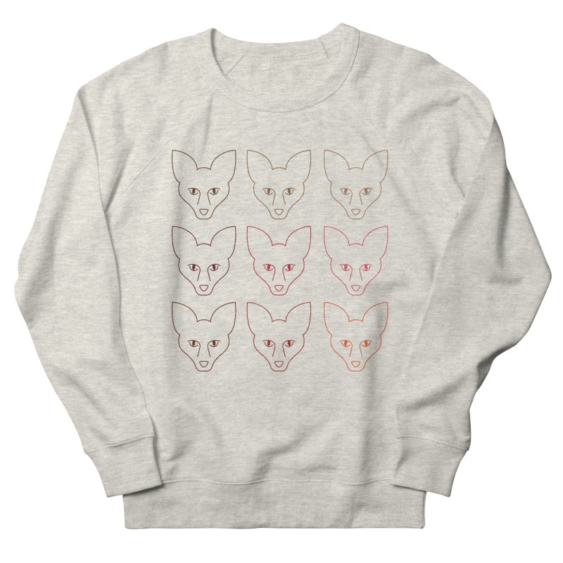 Colors of the Fox Men's French Terry Sweatshirt by Daily Lovejuice Apparel