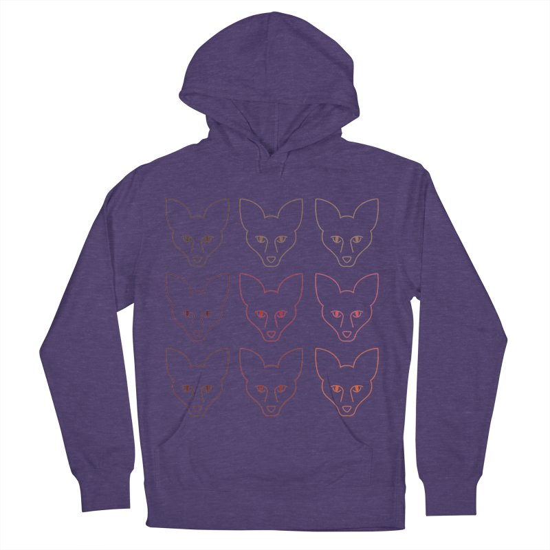 Colors of the Fox Women's French Terry Pullover Hoody by Daily Lovejuice Apparel