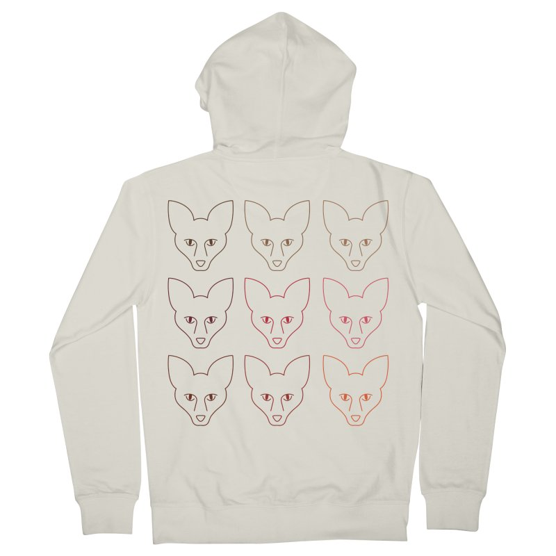 Colors of the Fox Women's French Terry Zip-Up Hoody by Daily Lovejuice Apparel