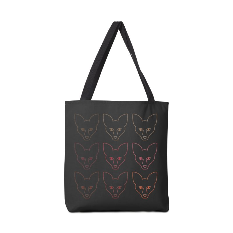 Colors of the Fox Accessories Tote Bag Bag by Daily Lovejuice Apparel