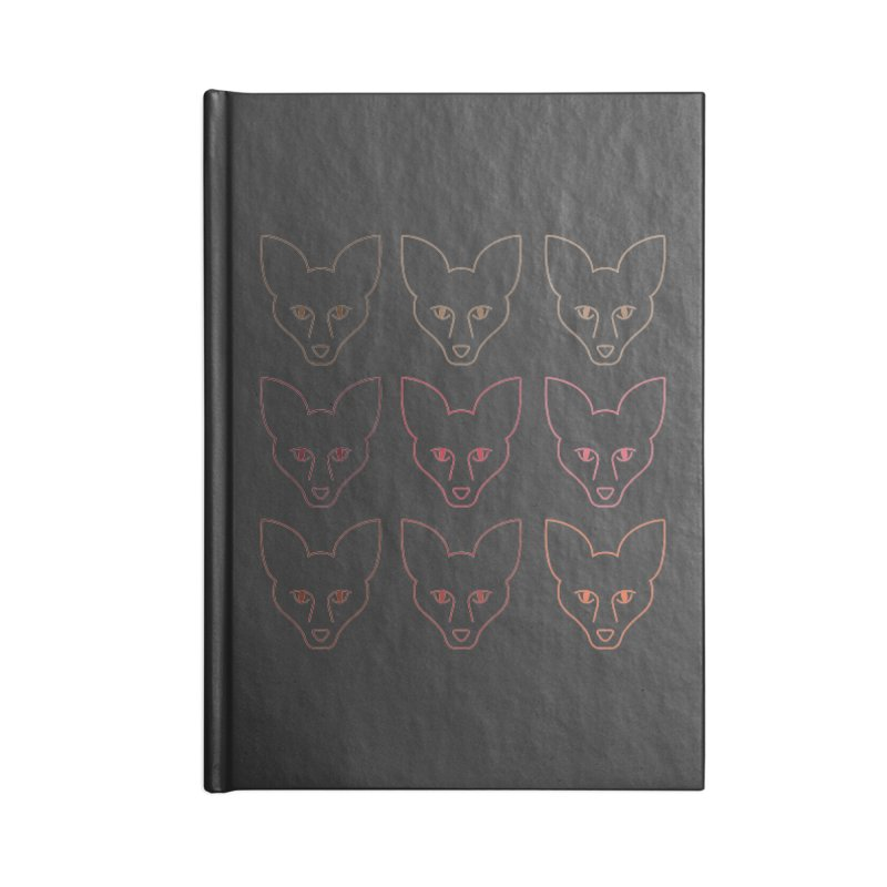Colors of the Fox Accessories Blank Journal Notebook by Daily Lovejuice Apparel
