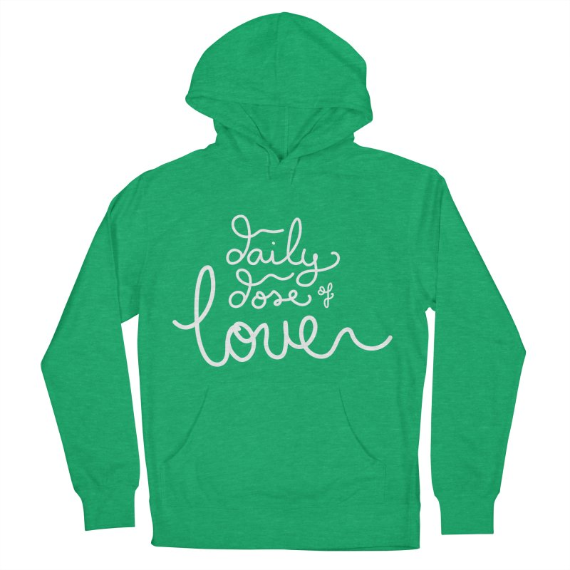 Daily Dose of Love Men's Pullover Hoody by Daily Lovejuice Apparel