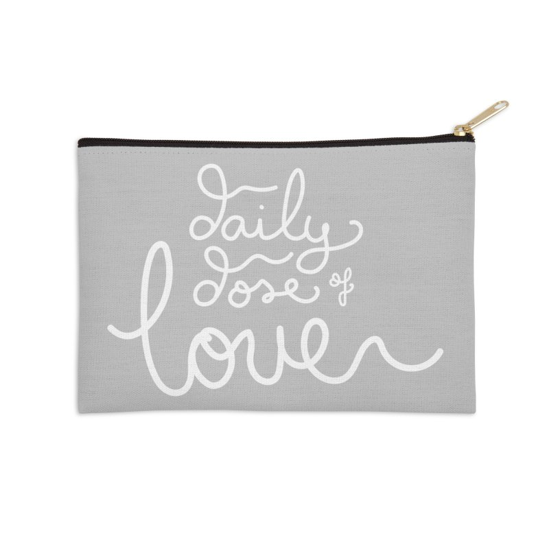 Daily Dose of Love Accessories Zip Pouch by Daily Lovejuice Apparel