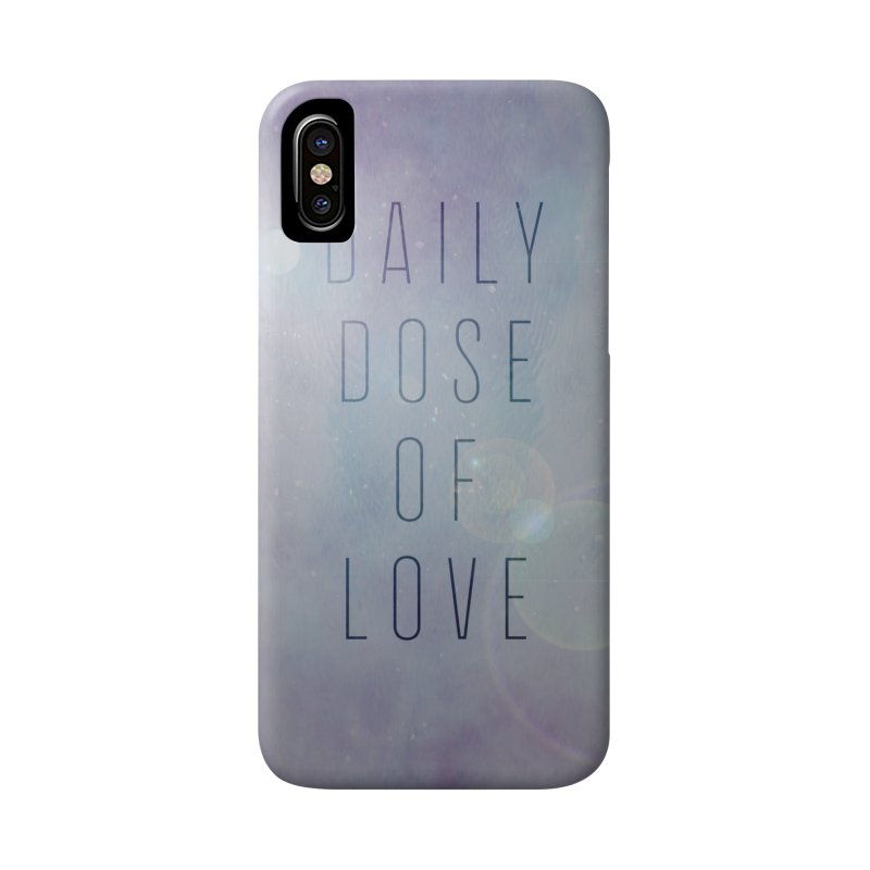 Daily Dose of Love - Galaxy Themed Accessories Phone Case by Daily Lovejuice Apparel