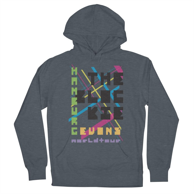 The Blockie Worldtour Women's Pullover Hoody by Daily Lovejuice Apparel