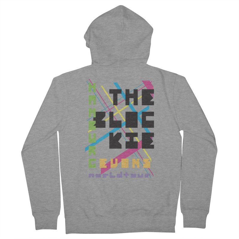 The Blockie Worldtour Women's Zip-Up Hoody by Daily Lovejuice Apparel
