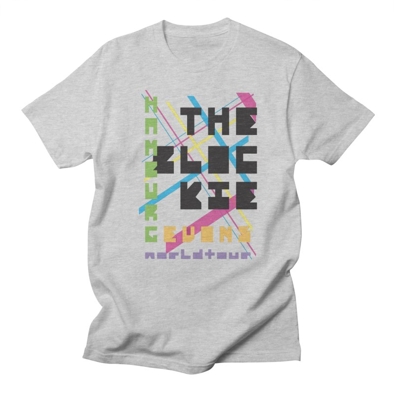 The Blockie Worldtour Men's T-shirt by Daily Lovejuice Apparel