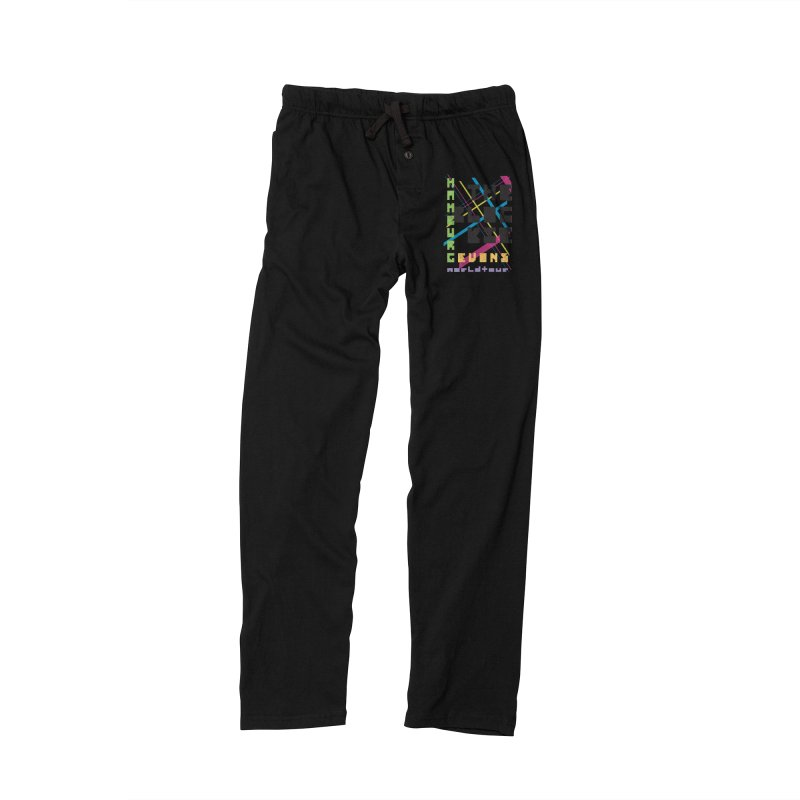 The Blockie Worldtour Men's Lounge Pants by Daily Lovejuice Apparel