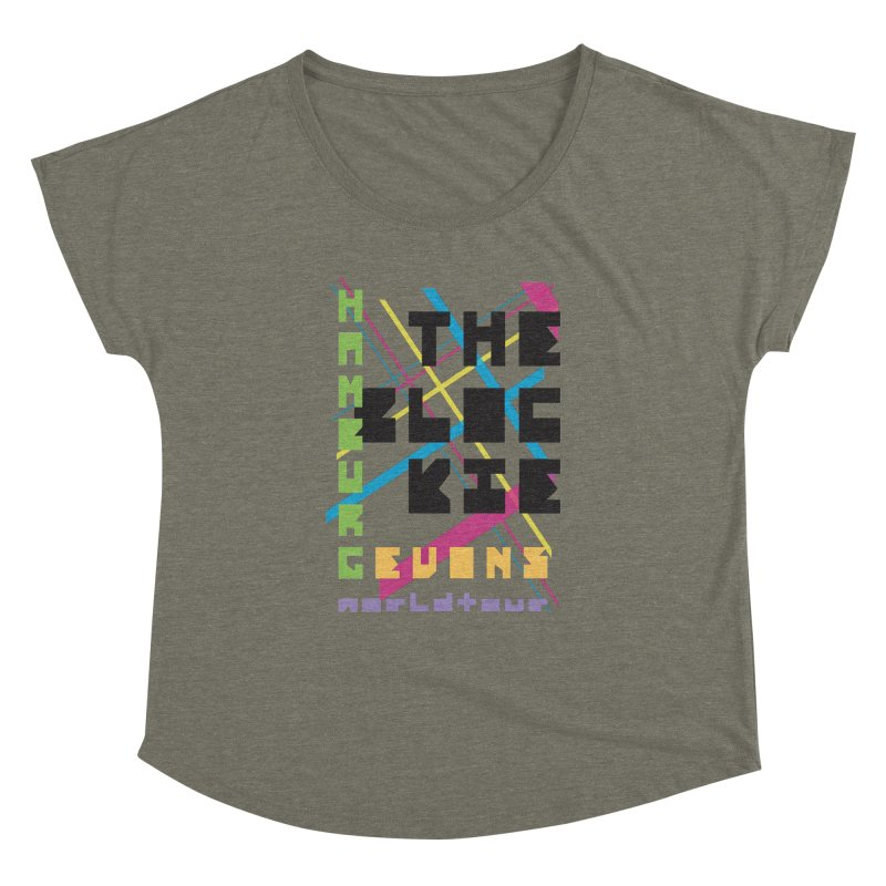 The Blockie Worldtour Women's Dolman by Daily Lovejuice Apparel